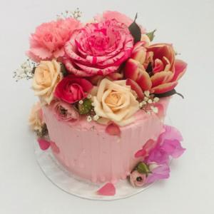 Bloemen & planten taarten